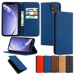 For iPhone 11 Max X XR Xs 6 7 8 SE2020 Phone Case PU Leather