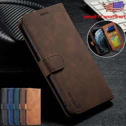 For iPhone 11 Pro Max Leather Case Magnetic Flip Wallet Card