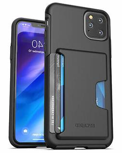 iPhone 11 / Pro Max Wallet Case Durable Cover with Credit Ca