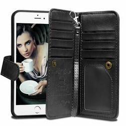iPhone 6 Plus Case, Vofolen Detachable iPhone 6S Plus Wallet