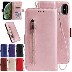For iPhone 6s 8 Plus 7 XR XS 11 Pro Max Case Leather Wallet