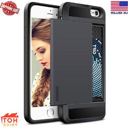 iPhone 6S Plus Case, Vofolen Card Holder iPhone 6S Plus Wall