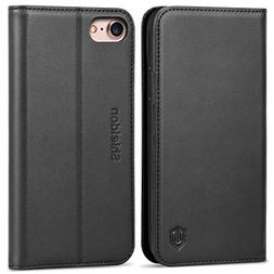 iPhone 8 Case, iPhone 7 Case, SHIELDON iPhone 7 Wallet Case