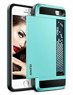 iPhone 7 Plus Case, Vofolen Sliding Card Holder iPhone 7 Plu