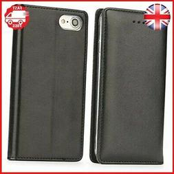 iPhone 8 Plus Case - IPHOX 7 Leather Wallet Flip Cover Wirel