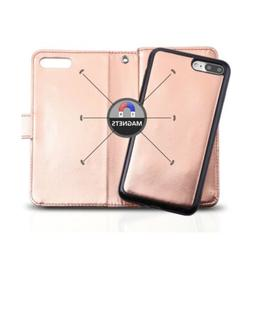 iPhone 8 Plus Case, Vofolen iPhone 8 Plus Wallet Case Shiny