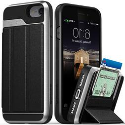 iPhone 8 Wallet Case, iPhone 7 Wallet Case, Vena  Flip Leath