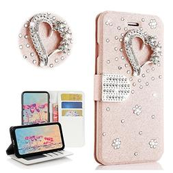 STENES iPhone X Case - STYLISH - 3D Handmade Bling Crystal P