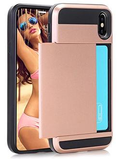 iPhone X Case, iPhone 10 Case SUMMEE iPhone X Wallet Case Sl