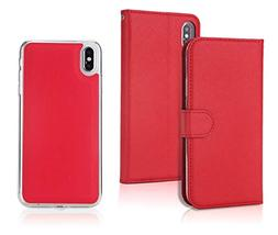 iPhone Xs Max Wallet Leather Case,Wetben 2 in 1 Magnetic Det