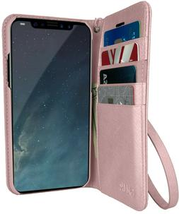 """Silk iPhone X Wallet Case, Folio """"Keeper of the Things"""" Flip"""