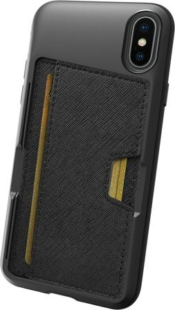 Smartish iPhone XS/X Wallet Case - Q CARD CASE