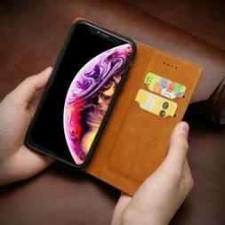 For iPhone X/ XS MAX/ XR 7 8 Plus Flip Leather Wallet Case C