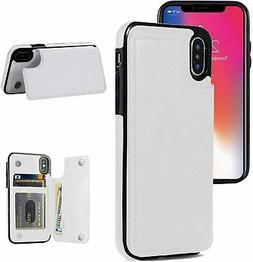 iPhone X/XS Wallet Case, iPhone X/XS Case with Card Holder,