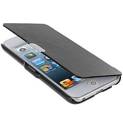 iPod Touch 5th Generation Wallet, TechSpec Black Texture Mag