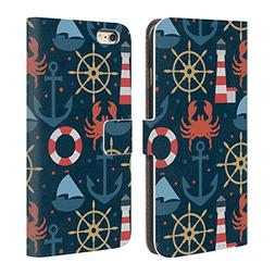 Official Julia Badeeva Nautical Assorted Patterns 2 Leather