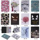 2018Painted 3D Magnetic Flip Wallet Stand Case Cover For iPa