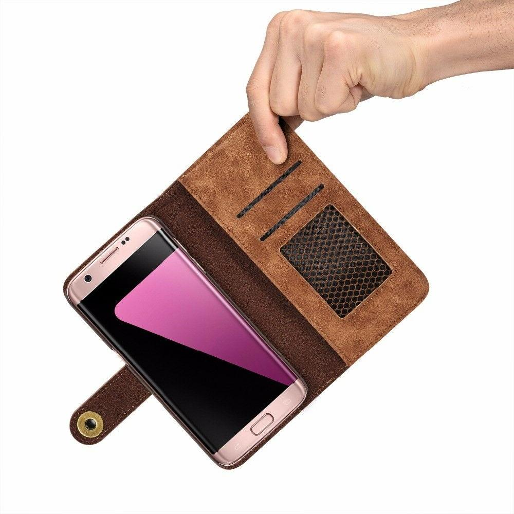For Samsung Galaxy Edge Flip Leather Case Cover