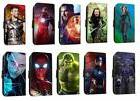 Avengers leather phone case infinity war marvel flip wallet