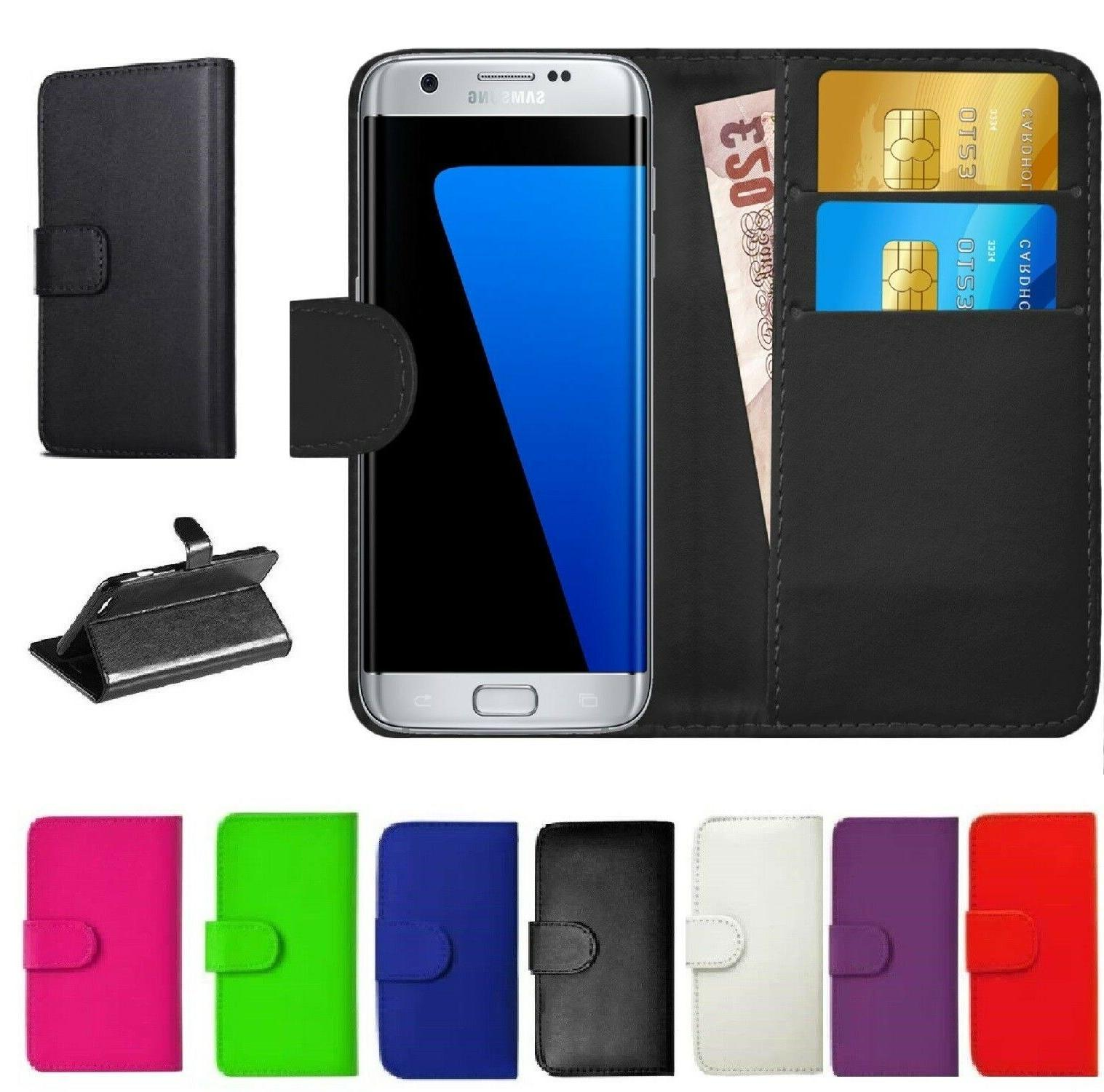 Case for Samsung Galaxy S7 S8+ S9 Smart Luxury Leather Walle