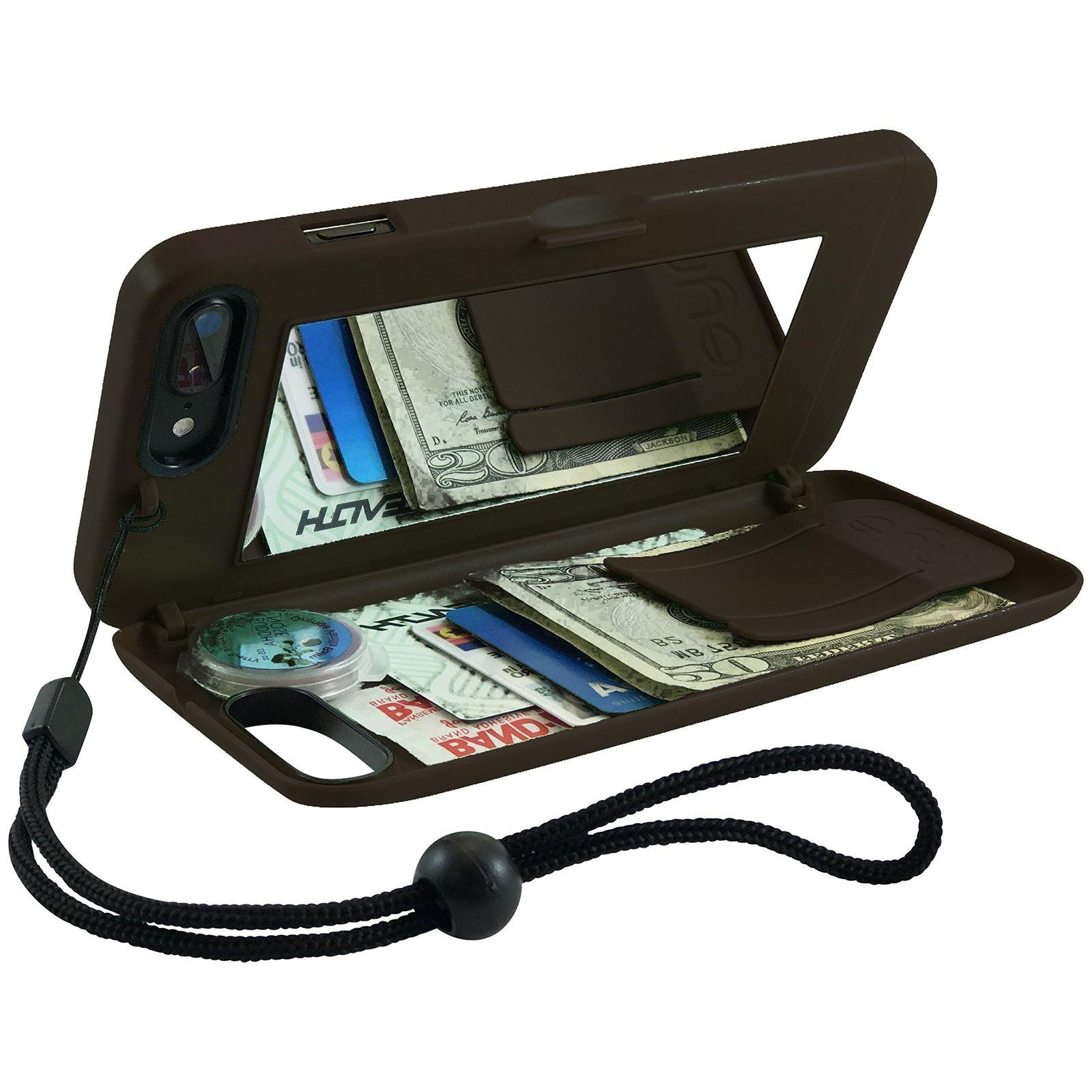 EYN Products Wallet Case for Apple iPhone 7 - Black
