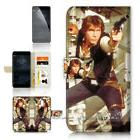 Wallet Flip Case Cover P21340 Starwars Han Solo