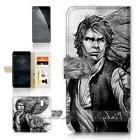 Wallet Flip Case Cover P21341 Starwars Han Solo