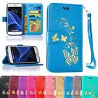 For Samsung Galaxy S6 Magnetic Leather Card Wallet Stand Fol