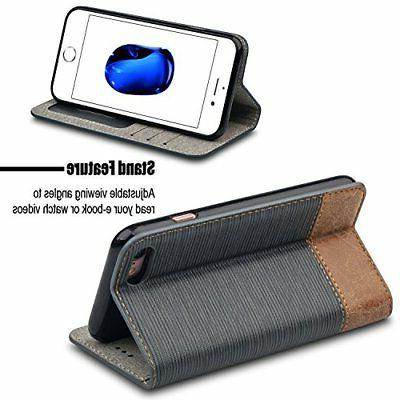 For Case,WenBelle Stand Soft Wallet For apple & iPhone Case
