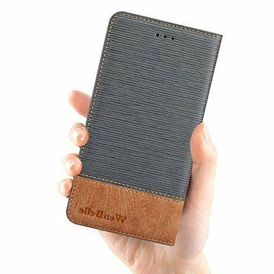For Case,WenBelle Feature,Premium Soft PU Color matching Wallet Flip For apple iPhone 7 & 4.7 Inch