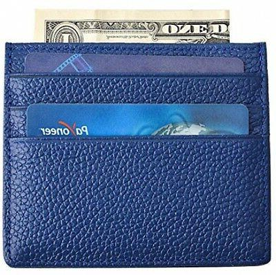 MaxGear Leather Credit Card Case Slim Leather Credit Card Ca