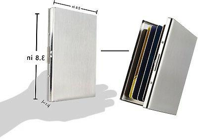 Maxgear RFID for Men and Women, RFID Stainless Steel Case