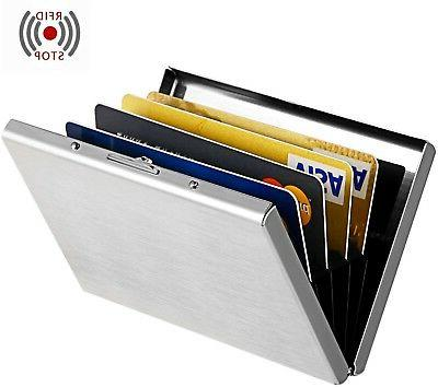 Maxgear RFID Blocking Wallet for Men and Women, RFID Stainle