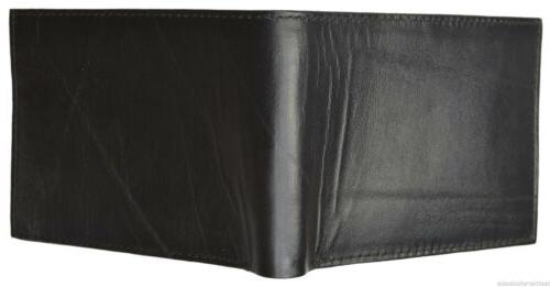 Men's Wallet Soft Lambskin Leather Removable 2 ID Case Marshal®