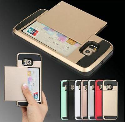 Slide Wallet Case For Galaxy Samsung Android Credit Card Hid