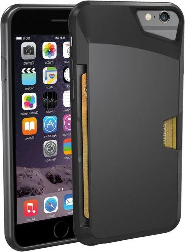 Wallet Case Vault Slim for iPhone 6/6s  by Silk Protective P