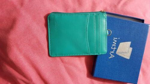 Womens Card Case Wallet Rfid Holder Compact Purse Vibrant Mo