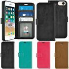 For Apple iPhone 6s 7 8 Plus Luxury Leather Wallet Flip Stan