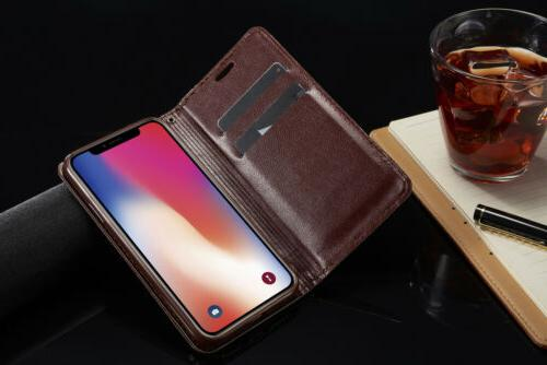 For iPhone X 7 Plus Holder Flip Case Stand
