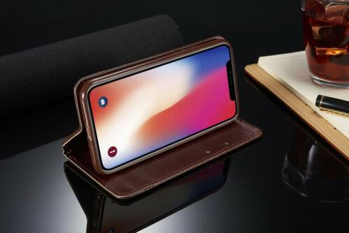 For iPhone XS MAX X 8 7 6S Plus Holder Flip Stand