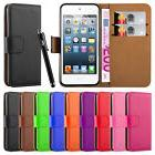 Apple iPod Touch 5th 6th Generation Flip Wallet Leather Book