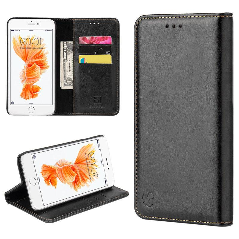 For 6 Plus Max Wallet Cover Black Removable