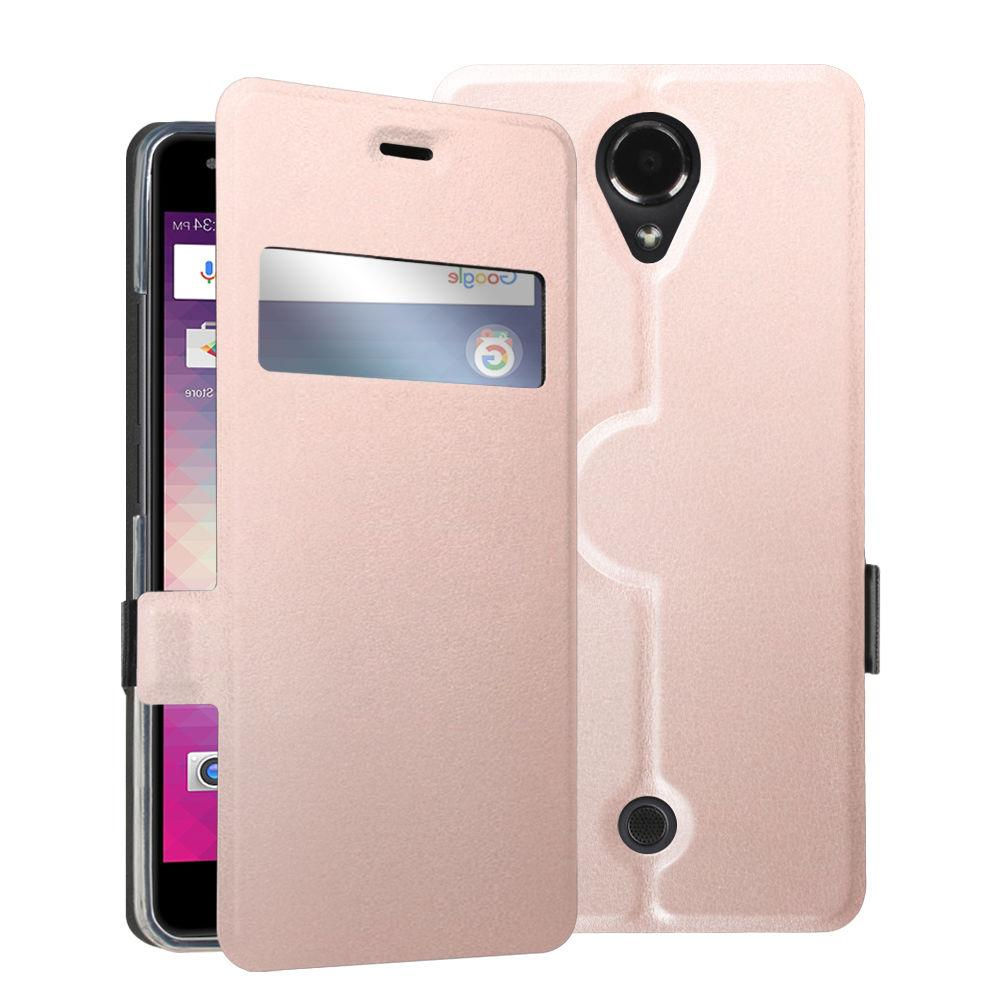 Fintie BLU R1 HD Case Quick View Window Protective Wallet Co