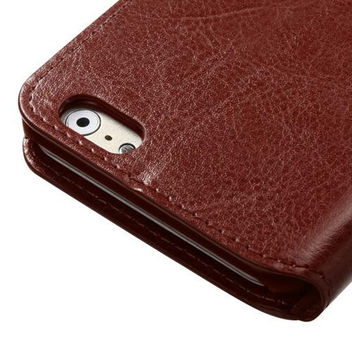 Brown Style Card Case for 6