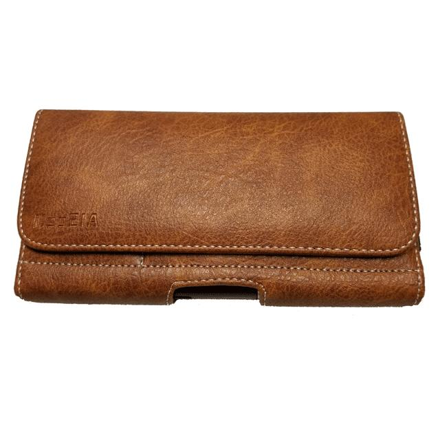 Brown Wallet Sleeve Flap Belt Clip For Xs /