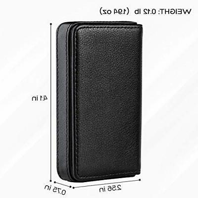 MaxGear Business Card Case Leather Pocket Card Holders