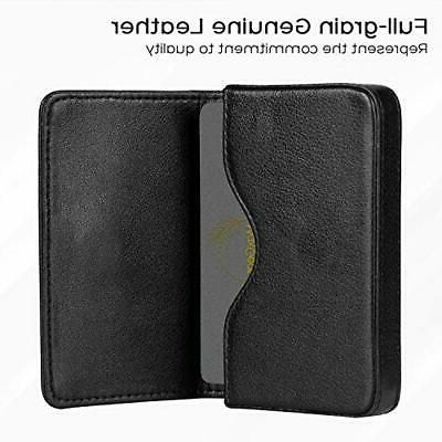 MaxGear Business Card Case Leather Business Card Professi
