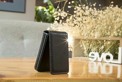 MaxGear Business Card Holder Premium Leather Business Card New