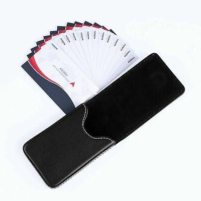 Premium PU Leather Card Case