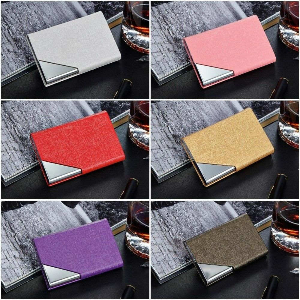 Business ID Credit Holders Men Fashion Cases